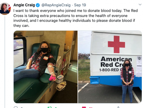 Blood Drive in Burnsville