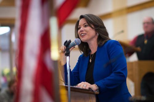 Brave Congresswoman
